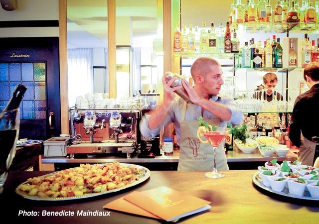 resto, hôtel, coquin, art déco, italien, aperitivo, vini, antipasti, Berger, rendez-vous