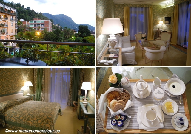 hôtel, palace, villa, suisse, Lac, Lugano, 5*, spa