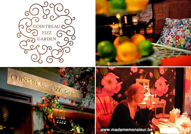 bar, cointreau, Fizz garden, pop up bar, art deco, Thierry Boutemy, Bruxelles, mixologie, cocktails, gratuit