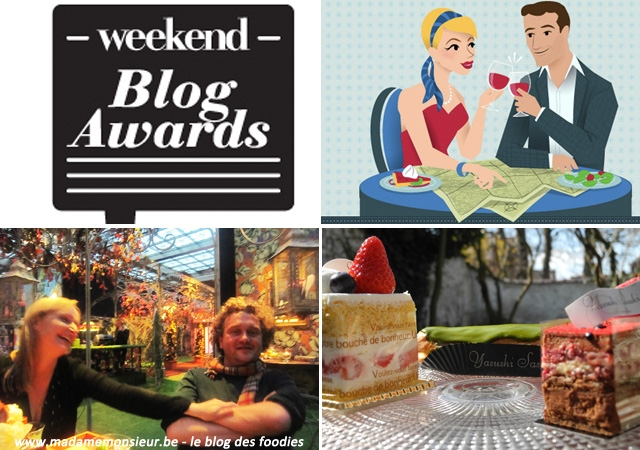 concours,blogs awards,weekend blog awards, 2013, blog food, blogueurs foodies, blogueurs gastronomes, blogs belges