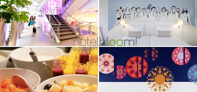 concours,anniversaire,cadeaux,gratuit, hôtel, Bloom, Bruxelles, nuit, week-end