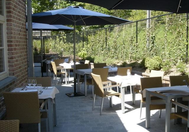 resto, étoilé, Michelin, Bruxelles, gastronomie, Uccle, lunch, moins de 50 euros, moins de 100 euros, moins de 120 euros, moins de 150 euros, terrasse