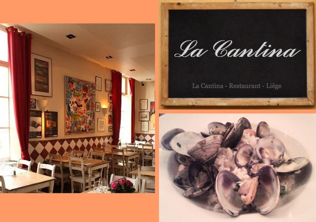 Liège, resto, cuisine italienne, risotto, moins de 50 euros, moins de 100 euros, moins de 120 euros