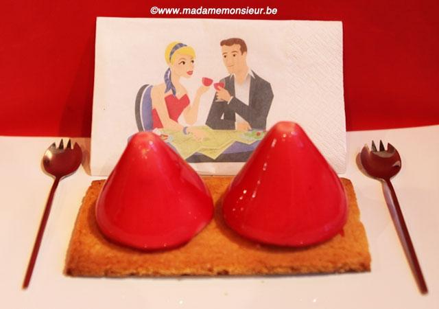 pâtisserie, Fabrice Collignon, cuberdon, bonbon, Léopold, gâteau, sucré, dessert, Saint-Valentin, fête, amoureux