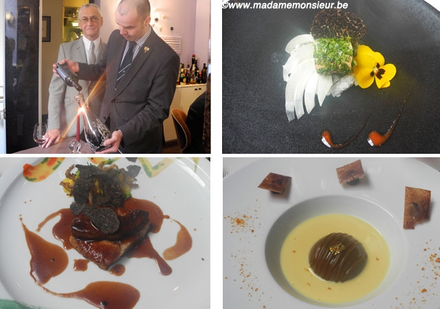 truffe,truffe noire,bruxelles,resto,restaurant,luigi ciciriello