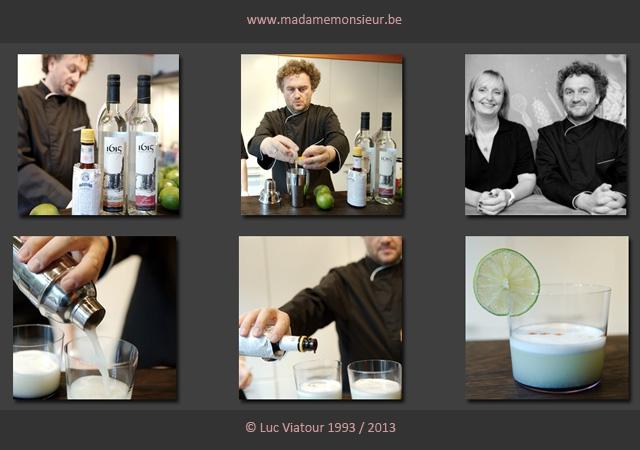 cocktail, fêtes, Pérou, Lima, oeuf, pisco, alcool, recette, apéro, portrait, L'événement, Luc Viatour