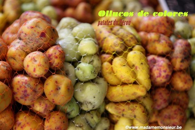 ocas, papas, pérou, tubercules, ollucos, spécialités, amérique latine,