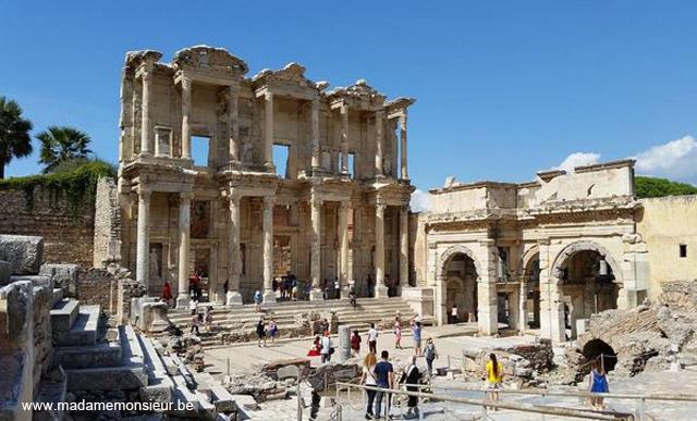 turquie,voyage,culture,anatolie,kusadasi, ephese, ruines, rome, archeologie