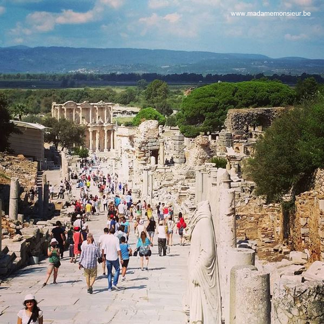 turquie,voyage,culture,anatolie,kusadasi, ephese, ruines, rome