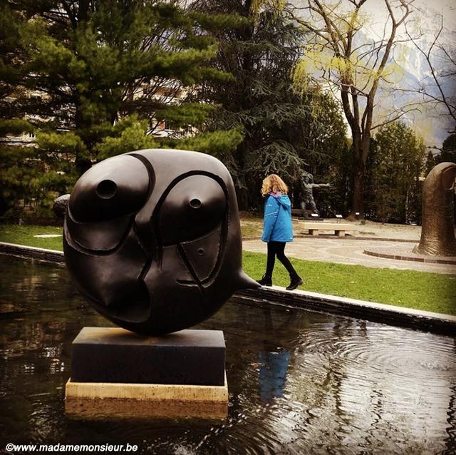 voyage,jardin,musée,sculpture,gianadda,suisse,art, miro