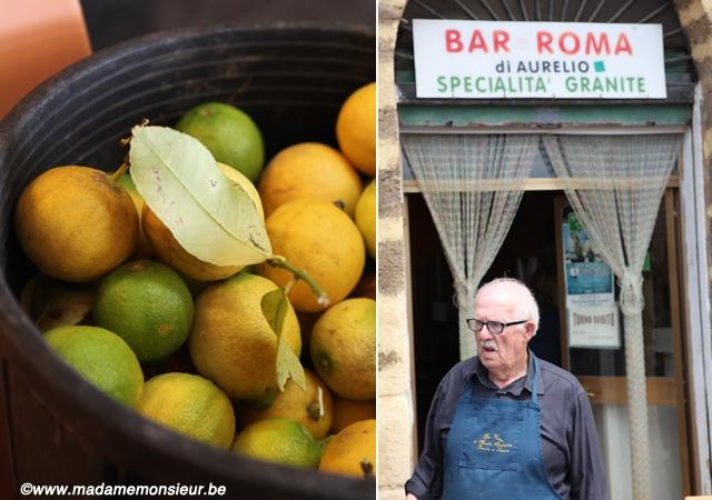 sicile,cuisine,voyage,coup de coeur,italie,gastronomie, granite, glace, sorbet