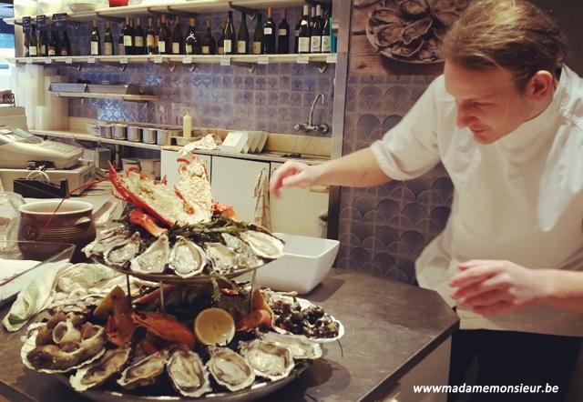 bruxelles,resto,restaurant,poisson,écailler,fruits de mer,belgique,concours