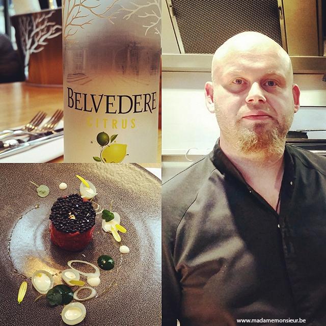 resto,restaurant,bruxelles,viande,vodka,food pairing, belvedere, mixologie