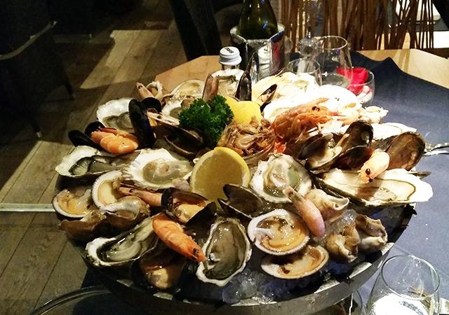 resto,restaurant,péniche,wavre,ecailler,crustaces,coup de coeur